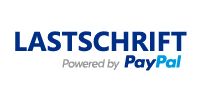 Lastschrift Powered by PayPal