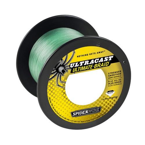 SpiderWire Ultracast Ulti. Braid Grün 0,14mm 1800m 12,7kg