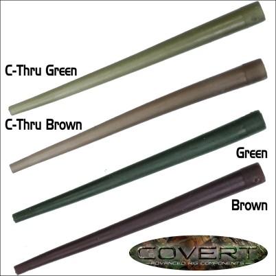 Gardner Covert Anti-Tangle Sleeves C-Thru Brown