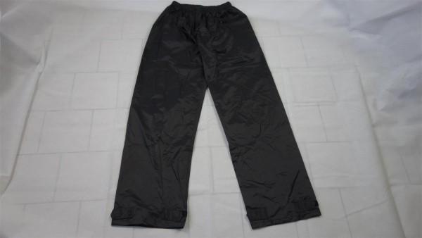 B-Ware MFH Regenhose Polyester mit PVC schwarz Gr. S