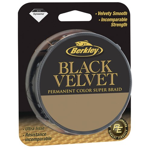 Berkley Whiplash Black Velvet Braided Line 0,28mm 110m