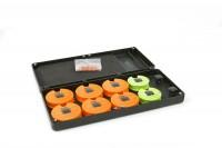 Fox F Box Medium Disc & Rig Box System inc. Pins and Discs