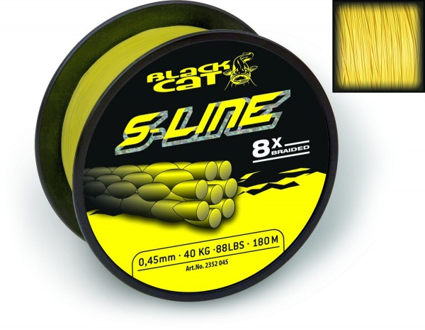 Black Cat S-Line 0,45mm 50kg 110lbs 400m