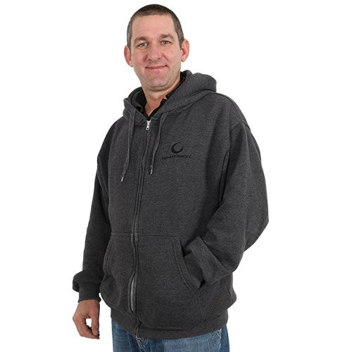 Gardner Zipped Hoody Grey