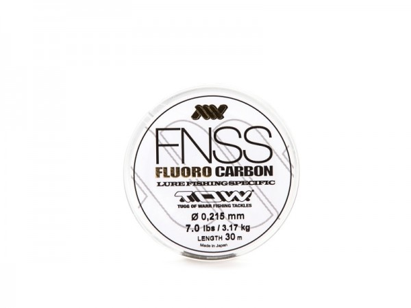 T.O.W. FNSS Fluorocarbon 30m 0,215mm 7.0lb 3,17kg