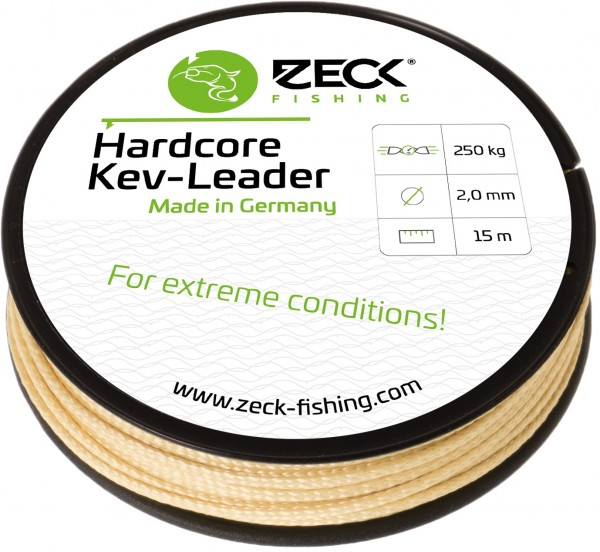 Zeck Hardcore Kev-Leader 15m 2,00mm 250kg