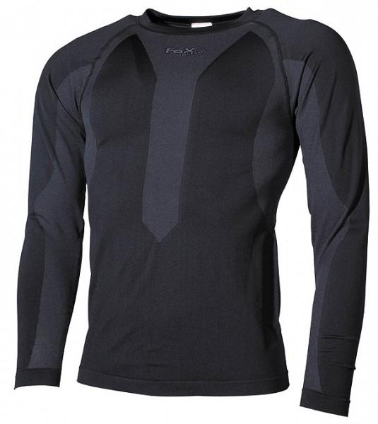 Fox Outdoor Thermo-Sport-Funktionsunterhemd langarm schwarz