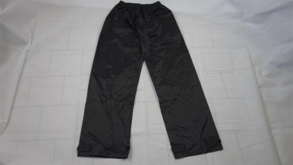 B-Ware MFH Regenhose Polyester mit PVC schwarz Gr. XXL