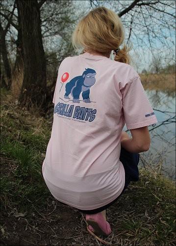 Gorilla T-Shirt rosa Gr.