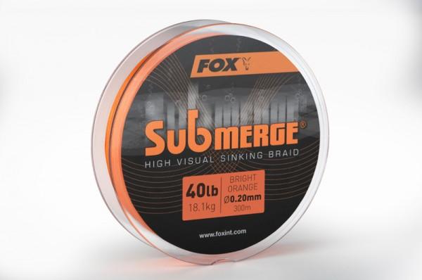 Fox Submerge High Visual Sinking Braid Bright Orange