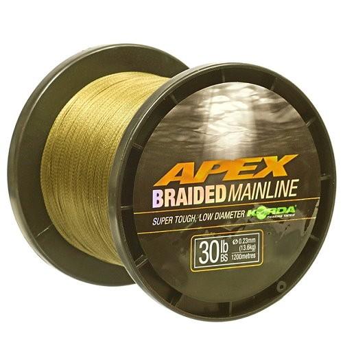 Korda Apex braided Mainline 1200m 30lb