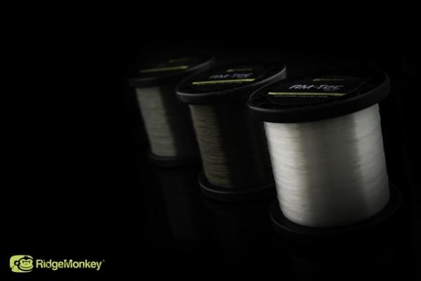 RidgeMonkey RM-Tec Mono 18lb 0.42mm Green 1200m