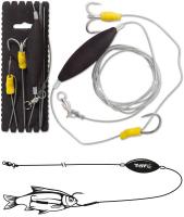 Black Cat Unterwasser-Posen Rig 100kg 180cm