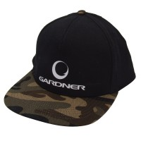 Gardner Snap Back Cap Black