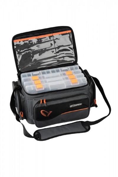 Savage Gear System Box Bag L 4 boxes