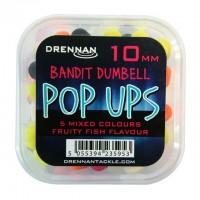 Drennan Pop Ups 10mm Bandit Dumbell Mixed Fruity Fish