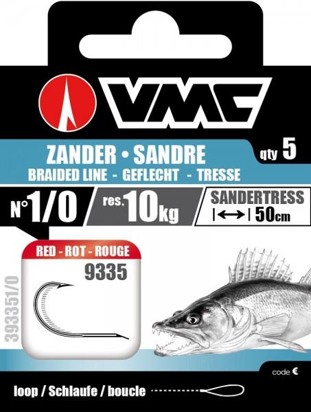 VMC Zandervorfach Kevlar Rot 4