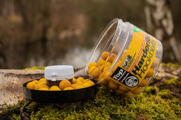 Solar Bait Hardened Hook Baits + Amino Liquid Top Banana