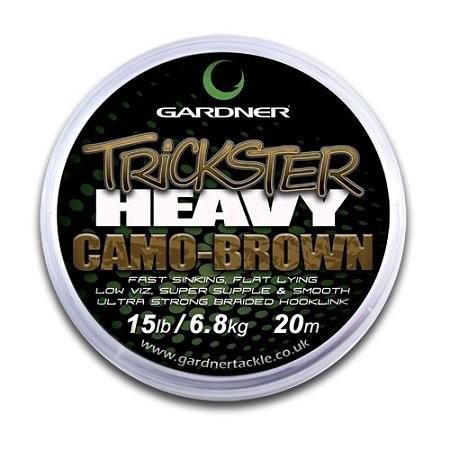 Gardner Trickster Heavy Camo-Brown 25lb 20m