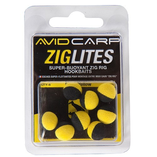 Avid Carp Zig Lites - Barrel/Schwarz