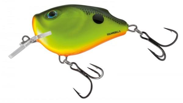 Salmo Squarebill 5cm Floating Chatreuse Shad