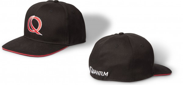 Quantum Rapper Cap 56cm schwarz