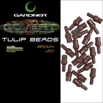 Gardner Tulip Beads brown