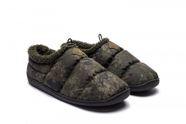Nash Tackle Camo Deluxe Bivvy Slippers