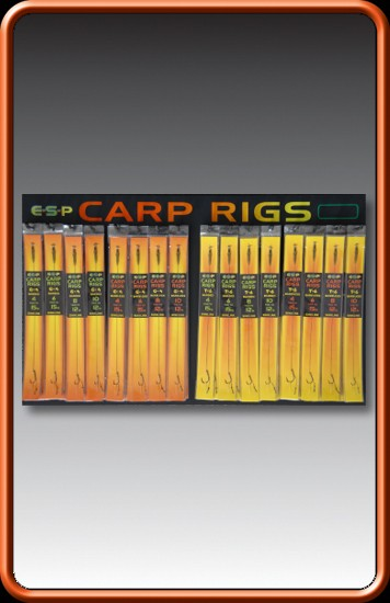 E-S-P Carp Rig T6 Hook Size 10 12lb Barbless