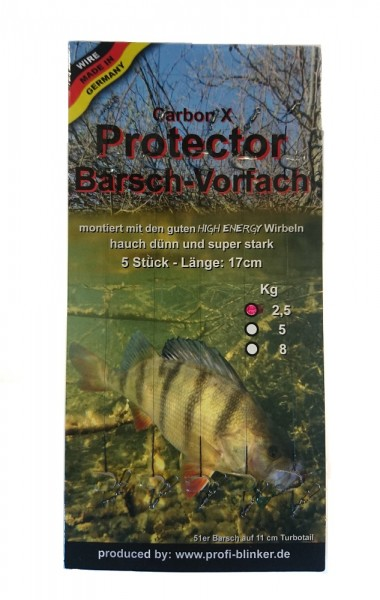 Profiblinker Carbon X 5 Protector Barsch-Vorfach 2,5 Kg