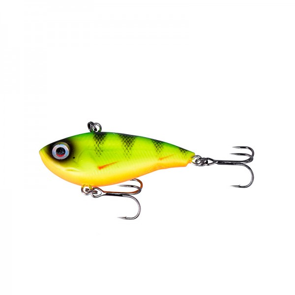 Savage Gear TPE Soft Vibes 51 S02 5,1cm 11g - Fire Perch