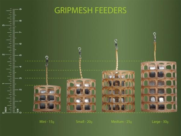 Drennan Gripmesh Feeder - Mini 15g