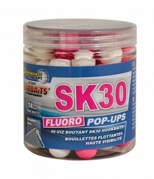 Starbaits Concept SK 30 Fluo Pop Ups 14mm