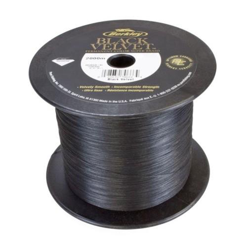 Berkley Whiplash Black Velvet Braided Line 0,08mm 2000m