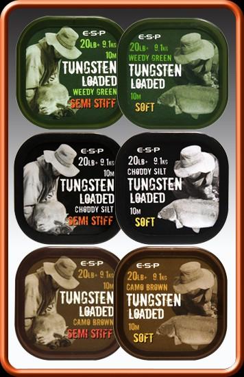 E-S-P Tungsten Loaded 20lb Weedy Green Soft 10m