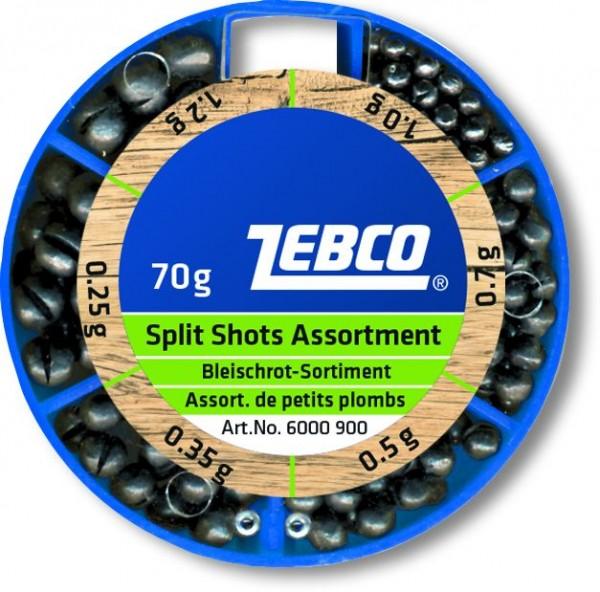 Zebco Bleischrot-Sortiment