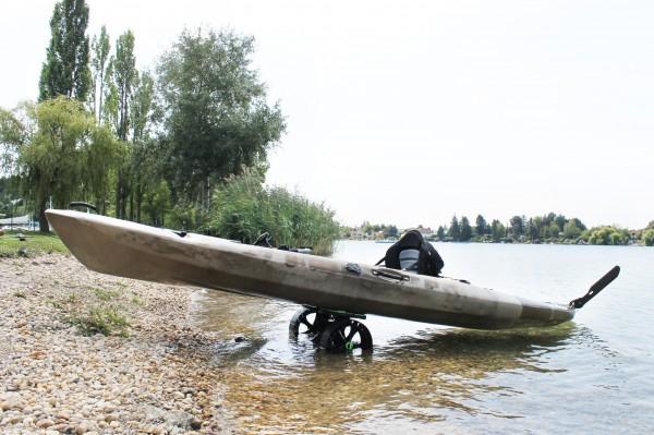 Railblaza C-TUG Kajak- und Schlauchboot Transportwagen