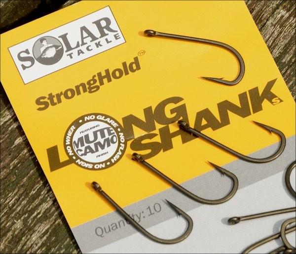 Solar Tackle Stronghold Longshanks Carp Hook Size 2