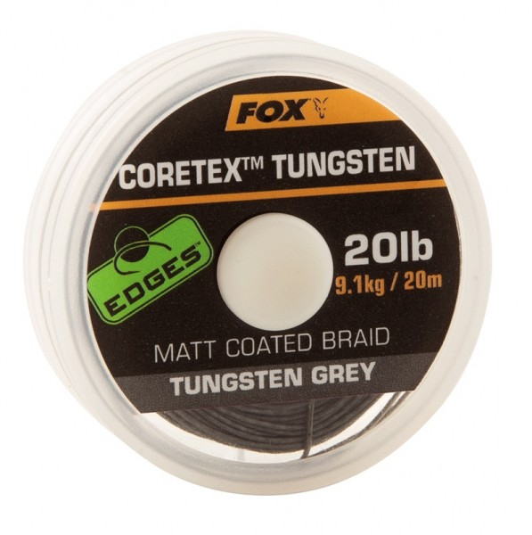 Fox Edges Coretex Tungsten 20lb 9,1kg 20m Tungsten Grey