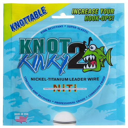 Aquateko Nickel-Titan Vorfach 6 lbs/2,7kg, 3m
