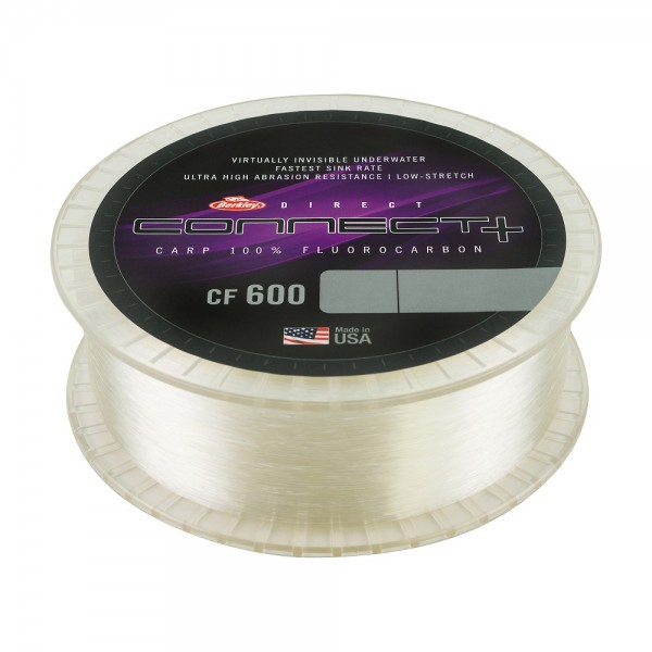 Berkley Direkt Connect+ CF 600 10lb 0,30mm 1200m Clear