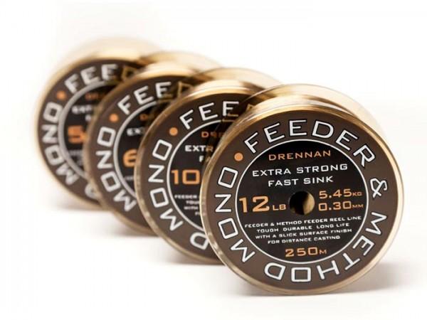 Drennan 250m 6lb 0,234mm Feeder Method Mono