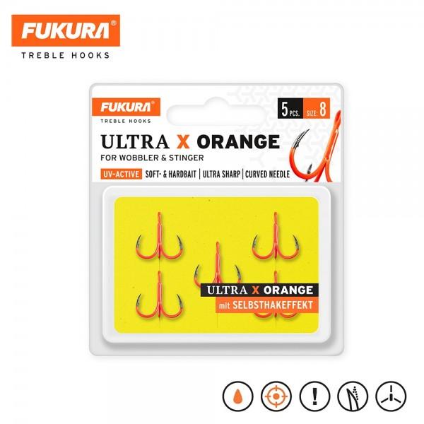 Lieblingsköder Fukura Ultra X Orange