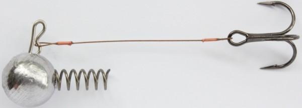 A.H.F. Leitner Korkenziehersystem 15g, 6,0cm, 1xDrill. Gr.6