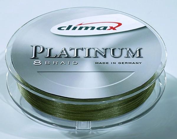 Climax Platinum 8 Braid khaki 0,16mm 15,5kg 135m