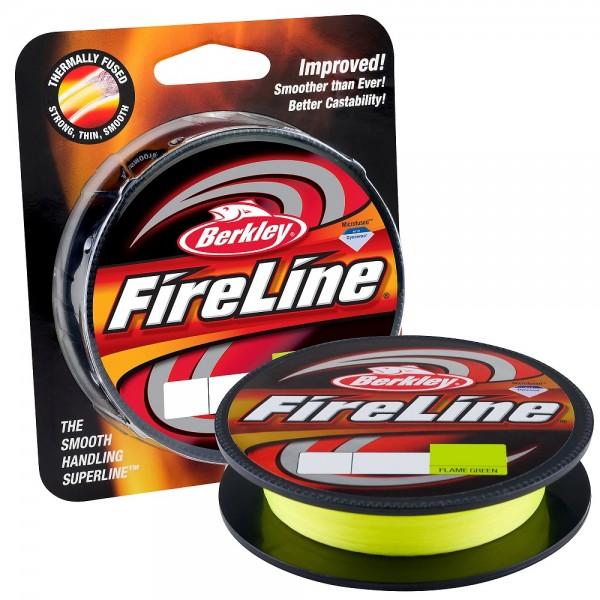 Berkley Fireline Flame Green 0,50mm 200m