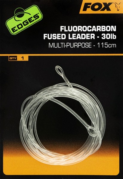 Fox Edges Fluorocarbon Fused Leader 30lb 115cm