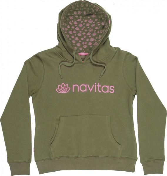 Navitas Womens Hoody Green