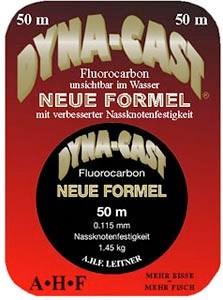 A.H.F. Leitner Dyna Cast Fluorocarbon 0,215mm/4,15 kg, 50 m