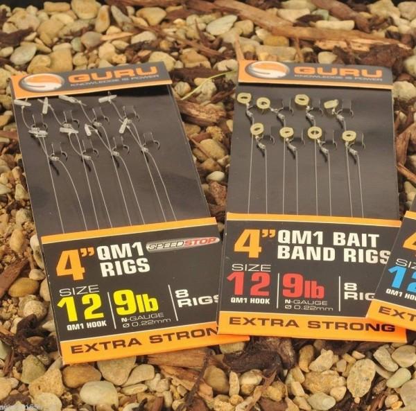 """Guru 4"""" QM1 Bait Band Rig Size 18"""